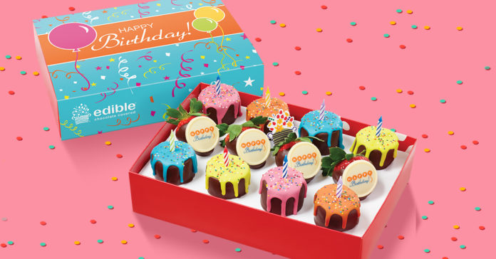 Edible helps with any birthday party planning needs