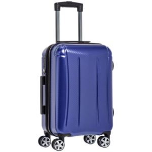 AmazonBasics Oxford Luggage Expandable Suitcase Spinner with TSA Lock